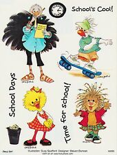 Suzys Zoo Stickers 25 Sheets School Days Cool Time for School