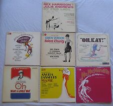 7 Cast Records: My Fair Lady OH WHAT A LOVELY WAR No Nanette SWEET CHARITY Mame