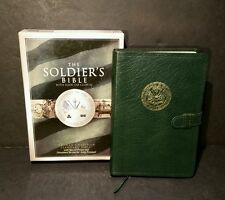 The Soldiers Bible Holman Christian Standard Bible Special Prayer Green Leather
