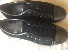 Guess Mens Lennox Black Suede tennis shoe sneaker size 11