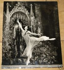 MARGOT FONTEYN ORIGINAL VINTAGE HOUSTON ROGERS PRESS PHOTOGRAPH