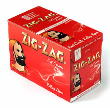 1 box rolling paper ZIG-ZAG RED Cut Corners - total 6000 papers