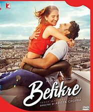 BEFIKRE (2016) RANVEER SINGH, VAANI KAPOOR - BOLLYWOOD 2 DISC SP. EDITION DVD
