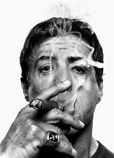 SYLVESTER STALLONE * QUALITY CANVAS PRINT