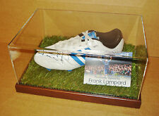 Frank Lampard Signed Football Boot Display Case Chelsea Autograph Soccer + COA