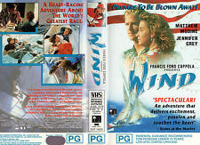 WIND -Matthew Modine & Jennifer Grey -VHS -PAL -NEW -Never played!! - PG - RARE!