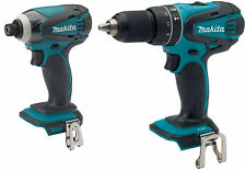 Makita XPH01 18V Cordless 1/2 Hammer Drill and XDT04 1/4 Impact Fits BL1830 NEW