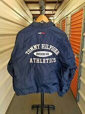 Vintage 90's Tommy Hilfiger Spellout Flag Patch Jacket. Men's Size Medium/Large