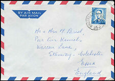Belgium 1971 Commercial Air Mail Cover To England #C30718