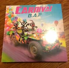 B.A.P. BAP CARNIVAL- 5th Mini Album CD   Photo Card - BRAND NEW