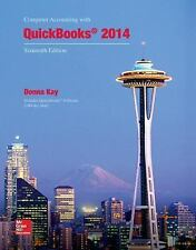 Computer Accounting with QuickBooks 2014 + 2 CD's by Donna Kay Spiral