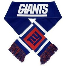 "NY New York Giants Knit Winter Neck Scarf NEW 65"" 2012 Team Stripe!"