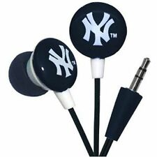 MLB New York Yankees Noise Isolating IHIP Earphones I pad I phone I pod