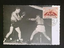 SAN MARINO MK 1956 BOXEN BOXING MAXIMUMKARTE CARTE MAXIMUM CARD MC CM c8163