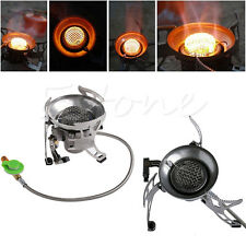 Gas Stove Butane Burner Multi Fuel Stoves For Outdoor Camping Hiking Portable