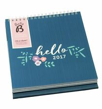 Busy B Desktop Calendar 2017 Stand Up Desk Calendar Planner 12 Month