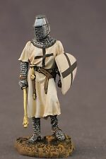 tin toy painted soldiers 54mm Knight warrior