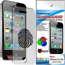 4 Pellicola Opaca Per iPhone 4S 4 Antiriflesso Antimpronta Proteggi Schermo