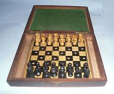 Antique vintage retro chess. tramp art ? trench art ? pow ? ww2 ? ww1 ? naive