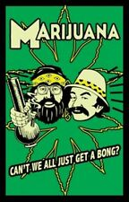 POSTER Cheech and Chong - Marijuana - Can't We All Just Get A Bong? Blacklight