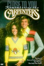 Close to You: Remembering the Carpenters (1998, DVD NIEUW) CLR/ST/FRA-SPA DUB