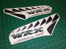 Subaru Impreza WRX STI side Sill Replacement Restoration decals Stickers