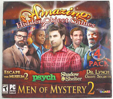 Men of Mystery 2 Amazing Hidden Object Games;Thrilling Mysteries Hours of Fun!