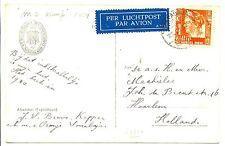 NED INDIE DUTCH INDIES S.M.N. 1939-12-23 AK   VF