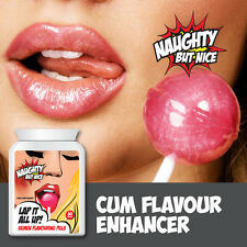 NAUGHTY BUT NICE LAP IT ALL UP SEMEN FLAVOURING PILLS – YUMMY TASTING CUM