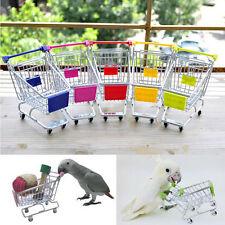 Mini Einkaufswagen Papagei Vogel Spielzeug Supermarkt Puppen Puppensitz HOT