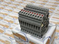 ENTRELEC, 011508706, TERMINAL BLOCK w/red LED 24V - 4,8 mA / 48V - 4,7 Ma 10/pkg