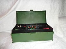 """7""""x5""""x13"""" Carrying Case Knives Guns Riffles Military 12 Action Figures 4"""" Toy"""
