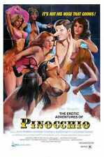 Erotic Adventures Of Pinocchio Poster 01 A2 Box Canvas Print