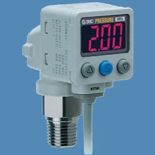 NEW SMC ISE80H-A2-V Digital 2 Color Pressure Switch -0.1 to 2 MPa