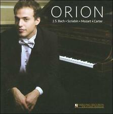Orion Weiss, solo piano, Orion Weiss, New Gold CD