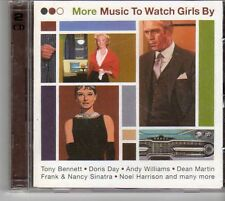 (EU751) More Music To Watch Girls By, 40 tracks various artists - 2CDS - 1999 CD