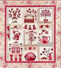 LE JARDIN BLOCK OF THE MONTH QUILT PATTERN, From Bunny Hill Designs NEW