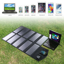 Hot18V 60W Solar Panel Foldable Charger Backup for Laptop 5V USB-charged Devices