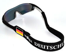 Wrapz DEUTSCHLAND Floating Neoprene Glasses Strap Head Band Germany   STRAP ONLY