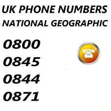 0800 0845 0844 0871 Number Low Cost Non Geographic NGN national coverage premium