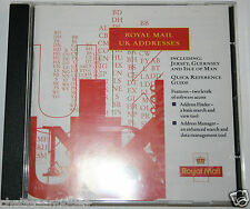 NUOVO Originale di Royal Mail UK indirizzi Manager 1999 Mailing List CD ROM Genealogia