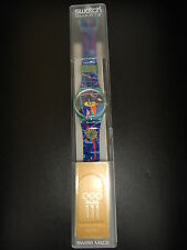 Swatch Watch Special-Olympic Lausanne Museum GN161 Neu&OVP Selten