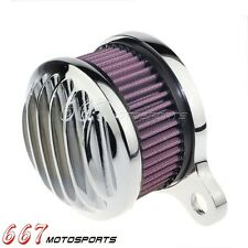 Chrome Air Cleaner Intake Filter System Kit For 2004-Present Harley sportsters