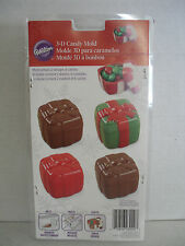 3D Present Christmas Chocolate Candy Mold from Wilton  - NEW