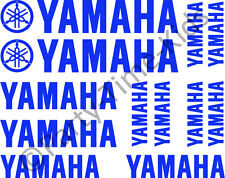 YAMAHA Tank Rim Fairing Motorbike Vinyl Decal Set Stickers Choice of 20 Colours