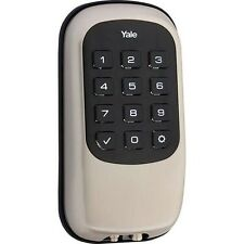 Yale Real Living Keyless Pushbutton Door Lock, Satin Nickel, W/ Z-Wave!!!