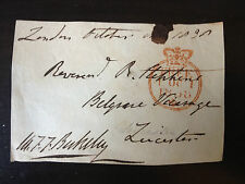 MAURICE F.F. BERKELEY - NAVAL ADMIRAL & POLITICIAN - SIGNED ENVELOPE FRONT