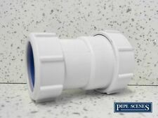 """European Pipe Adaptor 40mm to 1 1/2"""" 41mm - 43mm McALPINE T28L-ISO Joiner"""
