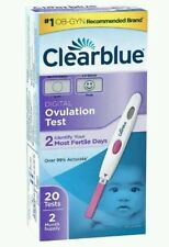 Clear Blue Digital Ovulation Test Over 99% Accurate  20 Tests 2 month Supply
