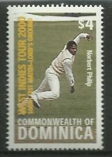 DOMINICA 2000 LORD'S CRICKET 100th TEST MATCH 1v MNH
